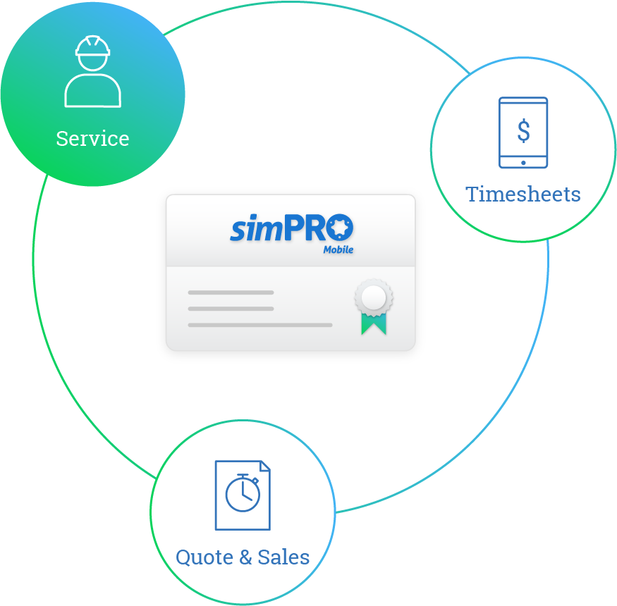 simpro mobile modules all in one licence