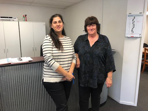 Mojgan Sotodeh and Ann Timlin from Appleby Engineering