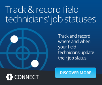 Track & record field technicians' job statuses. Track and record where and when your field technicians update their job status.