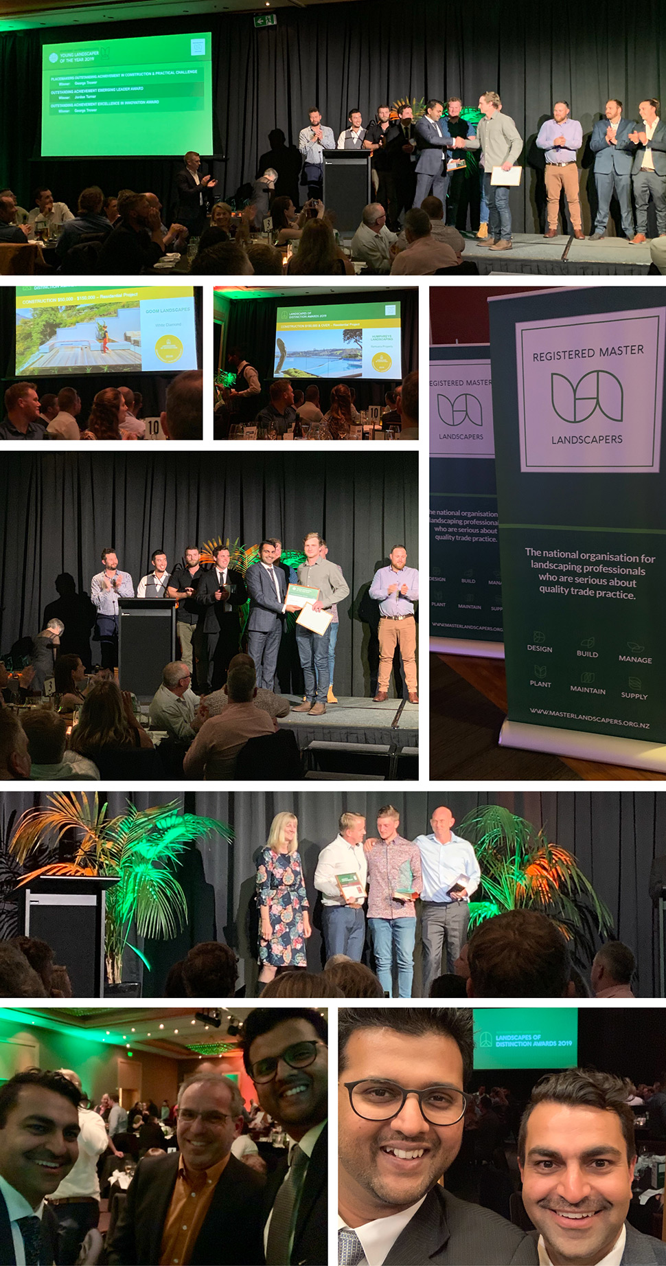 NZ RML Awards photo collage