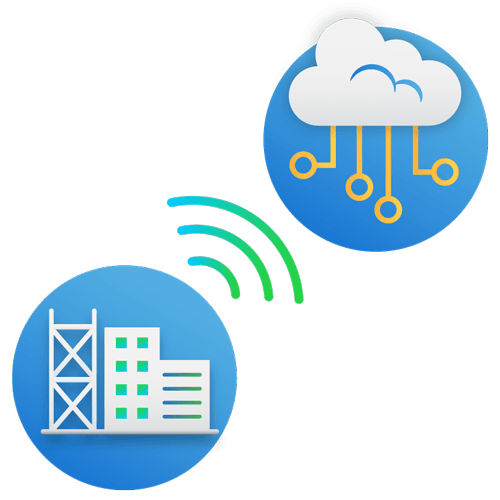 simPRO IoT cloud illustration