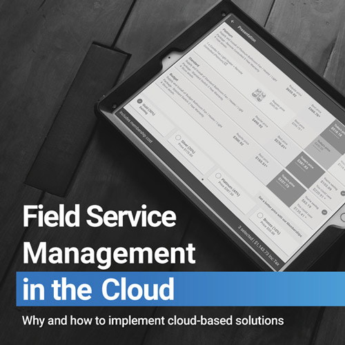 simPRO eBook - Field Service Management in the cloud