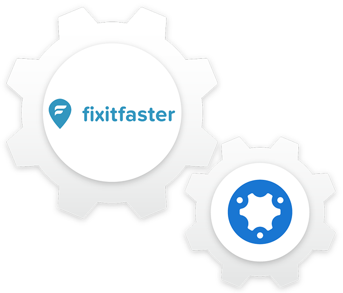 Fixitfaster and simPRO cog composition