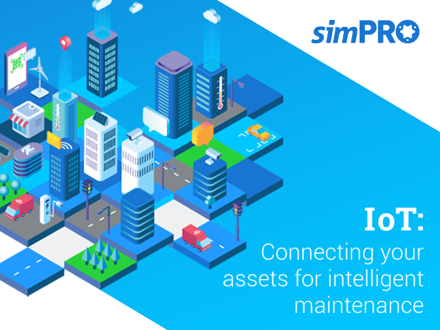 simPRO IoT eBook title page