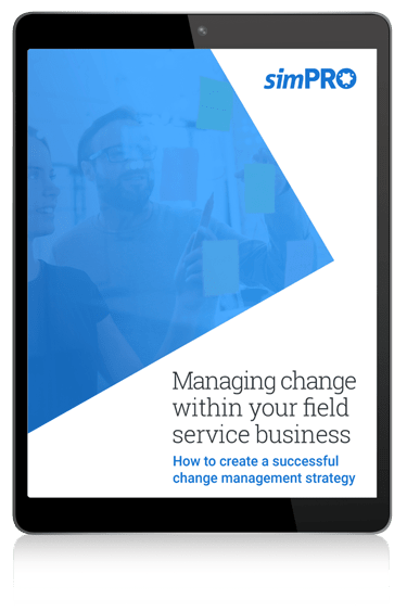 simPRO change mangement eBook thumbnail