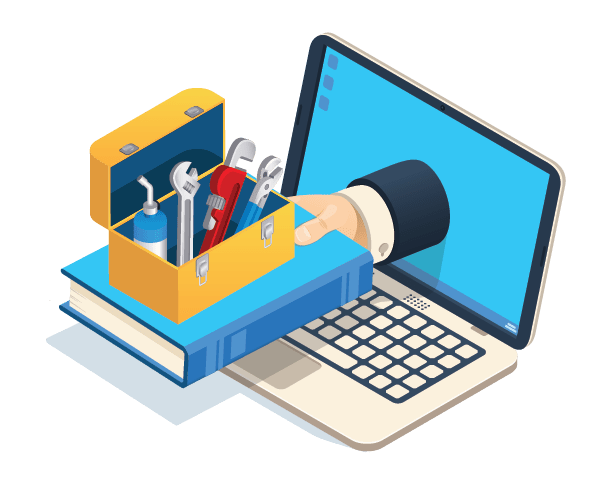 simPRO Learning Toolbox illustration