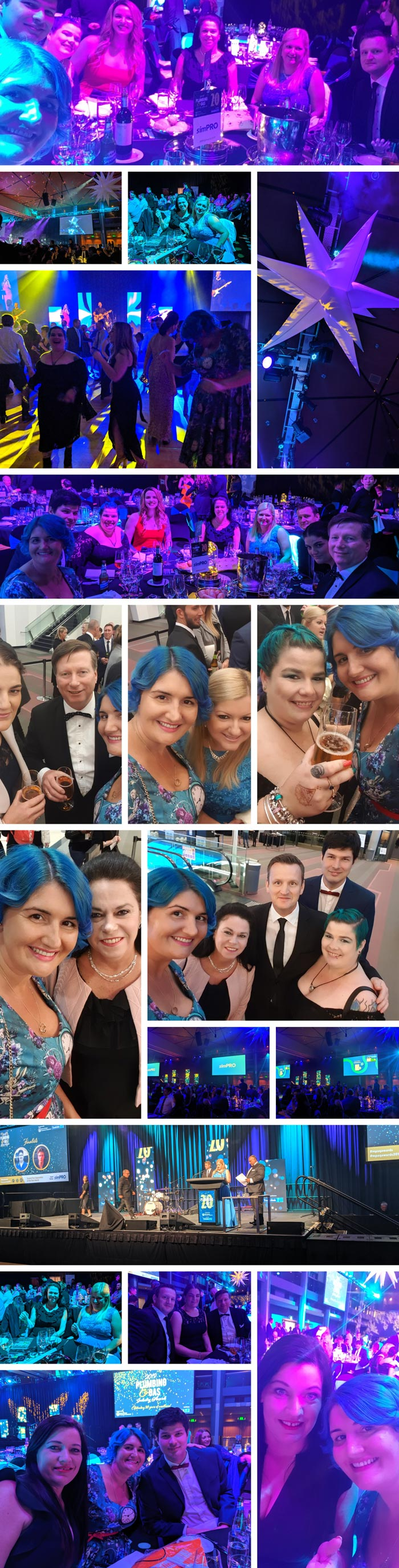 AU Master Plumbers Association Queensland Awards photo collage