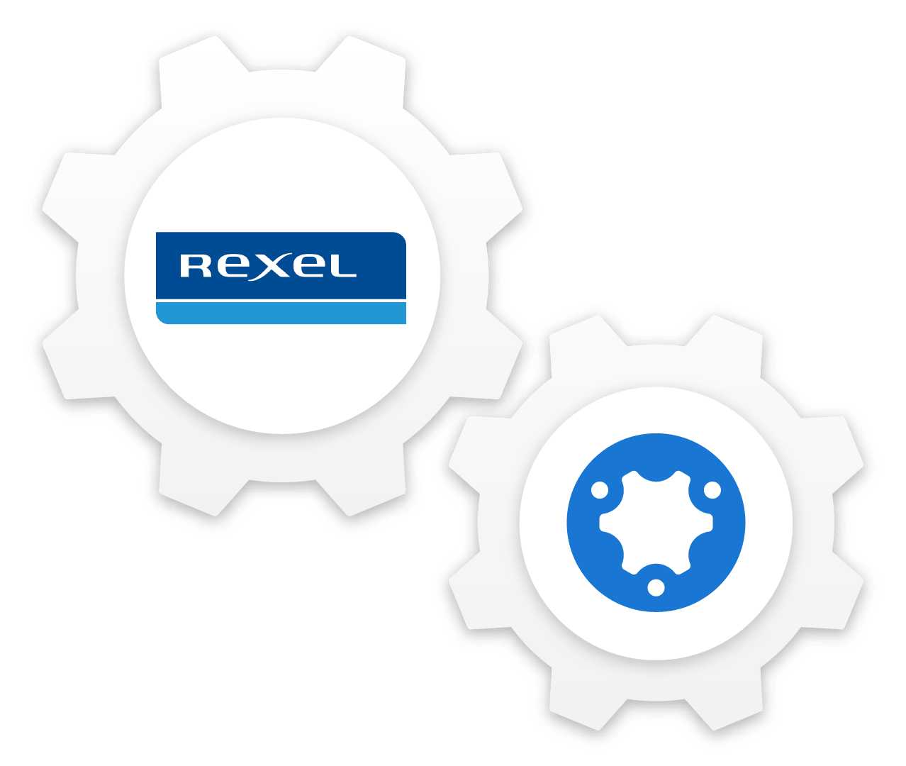 simPRO and Rexel cog composition